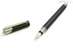 Tombow Zoom 101 Carbon Fiber Fountain Pen - Fine Nib - TOMBOW FP-CDZ14-F