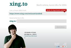 #XING to Kurz-Url Sevice http://xing.to ~ http://xing.to/MiSha ist meine und http://xing.to/Austria, die des AustrianDesks