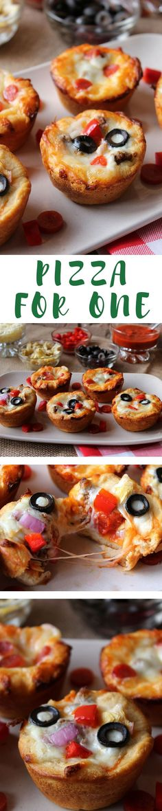 """""""This is seriously a quick and easy meal, appetizer or snack. What I love is you can make a pizza bar and everyone can make their own to their liking. This would be great to make up several and serve while watching a game on TV, your next game night or an easy weeknight meal."""""""