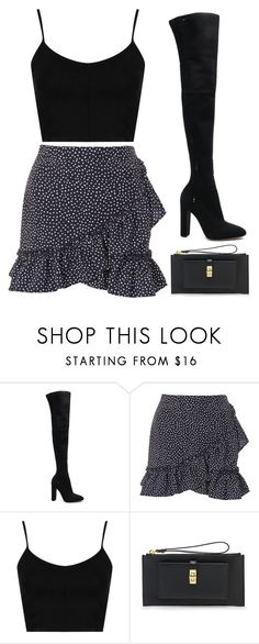 """""""Untitled #459"""" by m0dernlove ❤ liked on Polyvore featuring Gianvito Rossi, Topshop and Henri Bendel"""