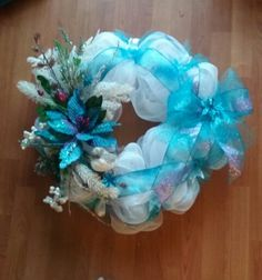 SOLD - This was a special order wreath - so gorgeous!