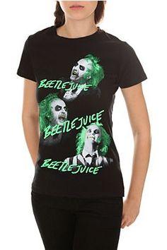 Beetlejuice 3 Times Girls T-Shirt