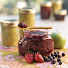 Nothing-to-It Fruit Jams