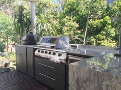 Outdoor kitchen, landscape design