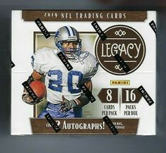 2001 Leaf Certified Materials Football Factory Sealed Hobby Box