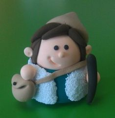 pastor Jumping Clay, Christmas Projects, Christmas Themes, Christmas Ornaments, Clay Figures, Polymer Clay Crafts, Nativity, Fondant, Xmas