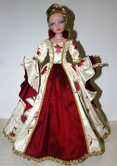 "Enchanted Court Gown for 16"" Ellowyne Wilde Dolls Tonner ebay designsbyjude"