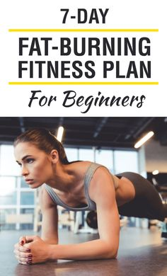 7-Day Fat-Burning Fitness Plan for Beginners