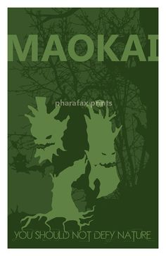 Maokai League of Legends Print by pharafax on Etsy