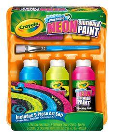 Crayola Washable Sidewalk Paint Tray Set