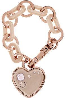 Mark by Marc Jacobs rose-tone brass bracelet