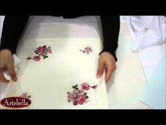 Artebella Sizde Yapabilirsiniz Kumaş Projeleri Görkem Masa Örtüsü - YouTube