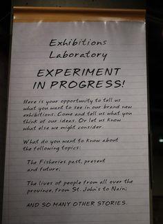 The Uncataloged Museum: Experiment in Progress!