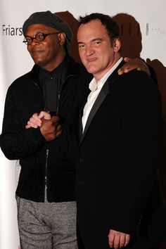 SLJ and Quentin Tarantino Quentin Tarantino, Tarantino Films, Tennessee, Samuel Jackson, Super Movie, Movie Producers, Film Director, Pulp Fiction, Best Actor