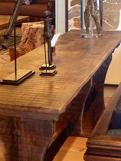 Reclaimed trestle table TaraceaGroup