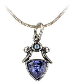 Moonlight Tanzanite Necklace - Every Purchase Funds Meals for Homeless and Hungry Veterans.