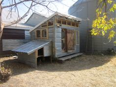 chicken coop lean-to protection