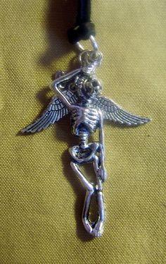 ☠ Fallen Angel Necklace ~ Hearse Boutique ☠