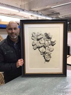 Carlos Martinez, Mount Board, Custom Framing, Conservation, Pencil Drawings, Picture Frames, David, Paper, Glass