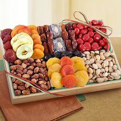 Santa Cruz Sweet Dried Fruits and Nuts Crate $39.95