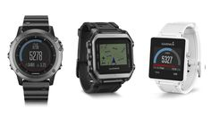 Garmin announces three wildly different smartwatches: Fenix 3, Epix, and Vivoactive - THE VERGE #Garmin, #Smartwatches
