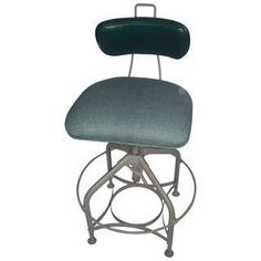 Vintage Refinished Iron Office Chair