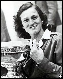 Babe Didrikson Zaharias - American athlete who achieved success in golf, basketball & was an Olympic track & field medalist. She broke gender barrier in golf & founded the Ladies Professional Golf Association