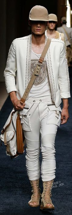 Balmain Spring 2016 Menswear