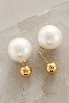 Amber Sceats Palazzo Pearl-Backed Studs