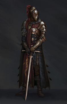knight, Dmitry Chertkov on ArtStation at https://www.artstation.com/artwork/bRzmm