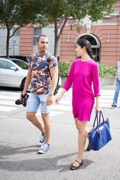 Street style photographers and their muses - Lee Oliveira and Caroline Issa