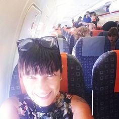 """#AnaLauraRibas Ana Laura Ribas: Ok! Milano/Sicilia /Milano #serata #letsgo #flight #onair #RibasFurba presents """"Festival Della Musica"""" #sempremegliochelavorare #lovemyself #ribashappy #summer2015 #sicilia #italia"""