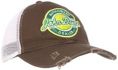 a6121acd8d413 Amazon.com  John Deere Men s Retro Patch Baseball Cap