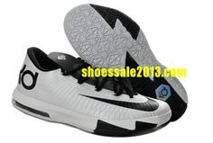more photos 1c591 e5623 Nike Zoom KD 6 Low Black White Kevin Durant Shoes Sale Online Shoes store  sell the cheap Nike KD VI online, it is high quality Nike KD VI sneakers  and we ...