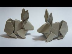 Origami Rabbit (Hsi-Min Tai) - YouTube