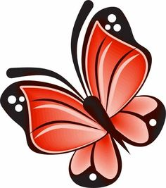 Cartoon Butterfly, Butterfly Clip Art, Butterfly Drawing, Pallet Painting, Fabric Painting, Stone Painting, Flower Pot Crafts, Flower Art, Mickey Mouse Images