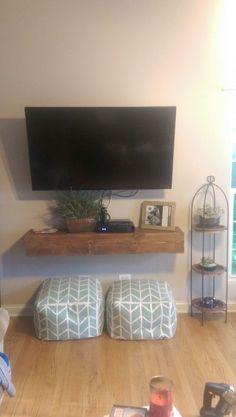 Floating Media Shelf