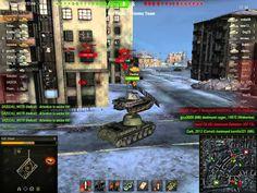 World of tanks Is + Panther Platoon Kharakov Gameplay
