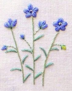 Simple Embroidery Designs, Hand Embroidery Projects, Embroidery Bags, Cross Stitch Embroidery, Embroidery Patterns, Mexican Embroidery, Blanket Stitch, Fabric Painting, Needlework