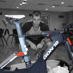 """""""The E-119 Tri+ is not only the fastest bike I've been on, it's simply the most beautiful. Gervais Rioux has crafted a masterpiece here.""""  -@crowiealexander, 3-time Ironman World Champion and 2-time Ironman 70.3 World Champion  #Ironman #Legend #Proathlete #SwimBikeRun #E119Triplus"""