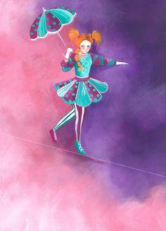 Tight rope walker - Sarah Latham
