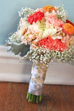 pretty- and then bridesmaids could have only babys breath. // this is probably already posted somewhere on here, but I just LOVE it! gorgeous bouquet!