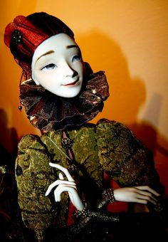 Изящные куклы Лопусовой-Томской.. Обсуждение на LiveInternet - Российский Сервис Онлайн-Дневников