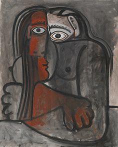 Pablo Picasso | Nu le bras crois''es 1960| Sotheby's