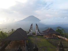 a breath taking view of Pura Lempuyang #Bali #beuatiful #nature