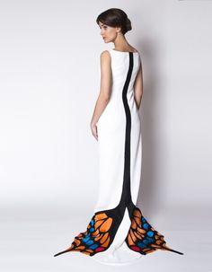 Suknia ślubna z Motylem