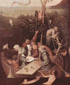 Hieronymus Bosch -Nave de los necios.