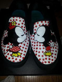 Items similar to Mickey & Minnie Shoes on Etsy
