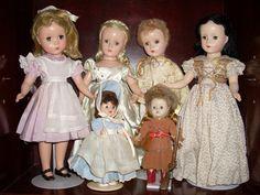 Vintage 1950s Disney dolls