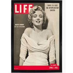 This poster made from the cover of Time magazine features the timeless beauty of Marilyn Monroe. All of our prints are beautifully rendered on 13 by 19 professional heavyweight matte photo paper. All images are printed exactly as shown to order. Old photos and other vintage media sometimes have a bit of blur which we are careful to keep, as we do with the creases in film posters or antique maps so that your print will still carry with it the true character of the original. All prints are…